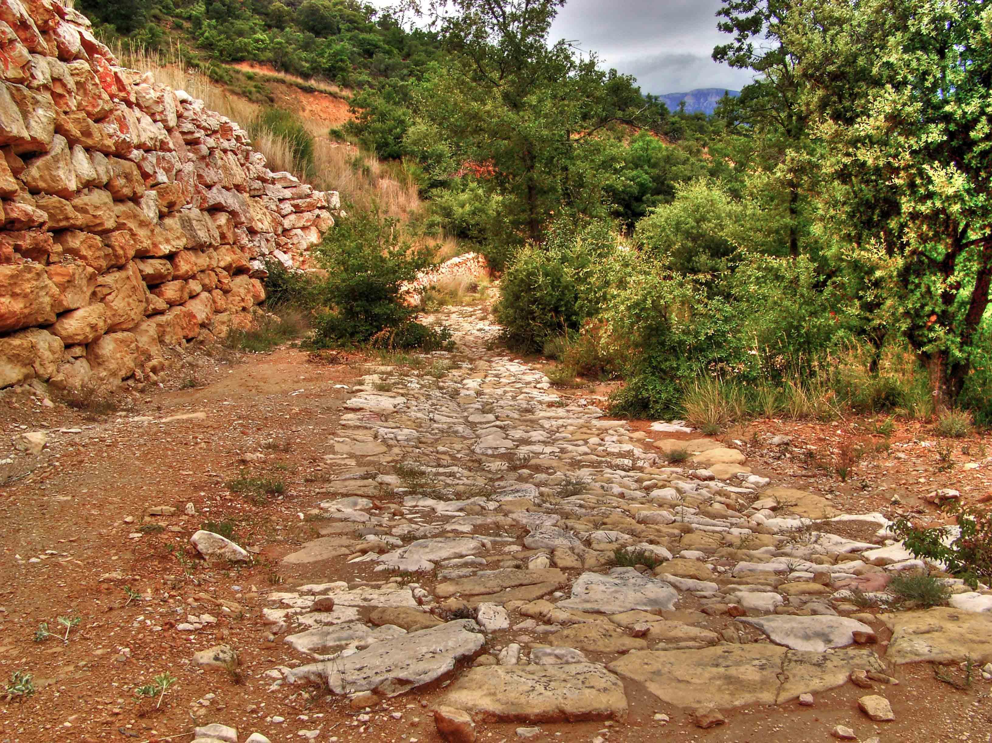 Via romana d'Àger. La Noguera. Montsec d'Àres.
