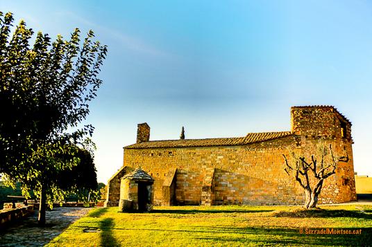 Ermita de la Mare de Déu de l'Obac. Viacamp, Ribagorça. Osca, Aragó. Montsec de l'Estall.