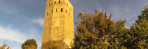 Torre del Castell de Lluçars. La Ribagorça. Osca