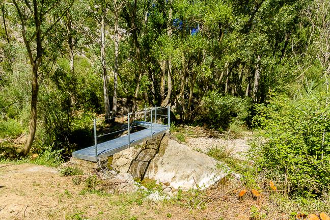 Camí de la Vall del riu Queixigar en direcció al Congost de Siscar o Congost del Queixigar, Tolba, Ribagorça. Osca, Aragó. Montsec de l'Estall.