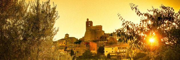 Conjunt Històric d'Àger: Castell i Canònica de Sant Pere.