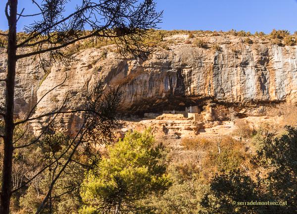 Cova de la Vansa, Tòrrec. Vilanova de Meià, La Noguera. Montsec de Rúbies.