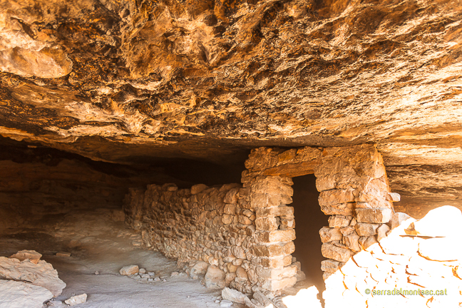 Cova de la Vansa, Tòrrec. Vilanova de Meià, La Noguera. Montsec de Rúbies (o de Meià).