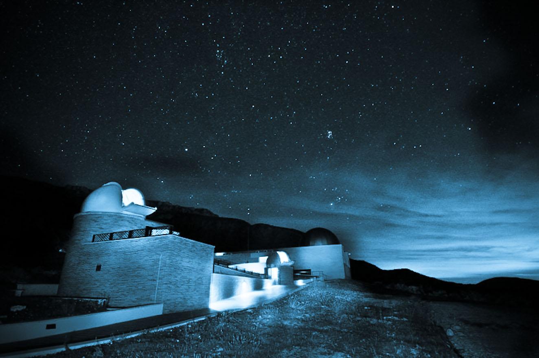 El Montsec. Destí Turístic Starlight. Parc Astronòmic del Montsec (Foto de Jordi Bas)