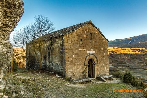 Ermita de Mare de Déu del Congost. Girbeta, Viacamp i Lliterà. Ribagorça, Osca. Aragó. Montsec d'Estall.