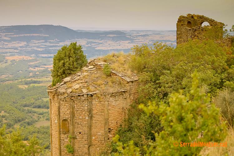 Sant Miquel de Montmagastre, Montmagastre. La Noguera, Lleida. Catalunya, Serra del Montsec.