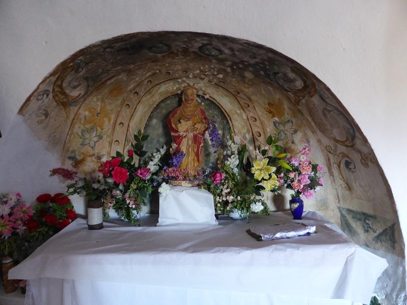 Imatge de Santa Marina de Soriana, Estopanyà. La Ribagorça d'Osca. Aragó. Montsec de l'Estall. Font de la imatge: https://romanicoribagorzano.wordpress.com